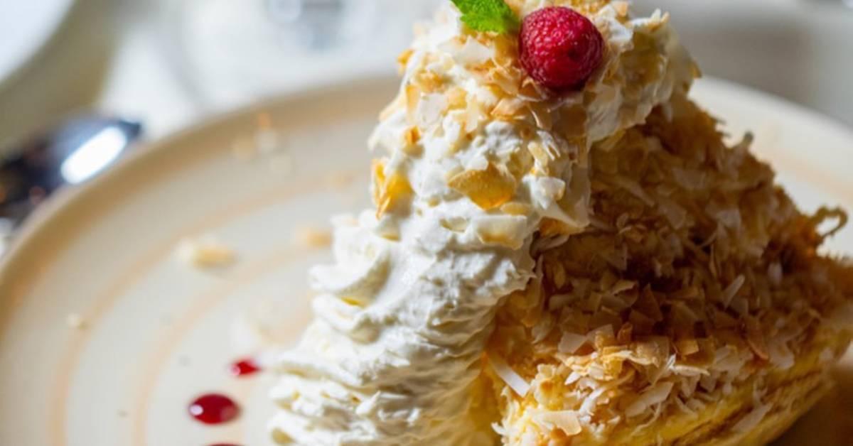 a coconut cream pie