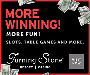 More Winning, More Fun, Slots, Table Games, And More At Turning Stone! >>