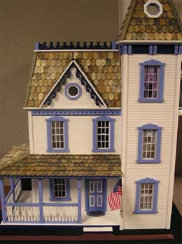 Handcrafted Victorian Dollhouse