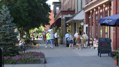 Downtown Saratoga Springs NY