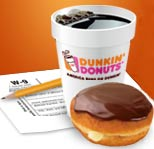 Dunkin Donuts Tax Day Promotion