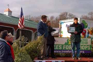 Chip Ellms' Receives Certificate