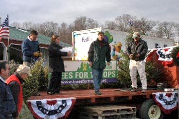 Ellms Christmas Trees For Troops