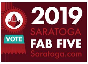 saratoga fab five 2019 vote badge