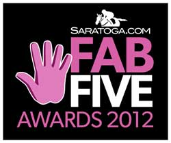 Saratoga.com Fab Five Awards