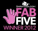 Saratoga.com Fab Five Award Winner