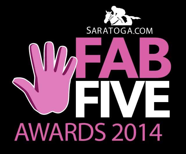 Fab Five Saratoga 2014 logo
