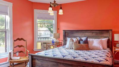 guest room in an inn
