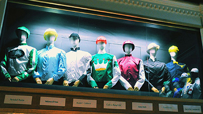 jockey silks at the national museum of racing