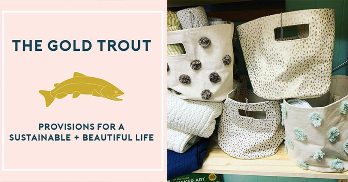 image for gold trout store and an image of bags