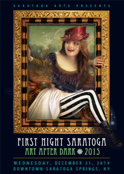 2015 Saratoga first night poster