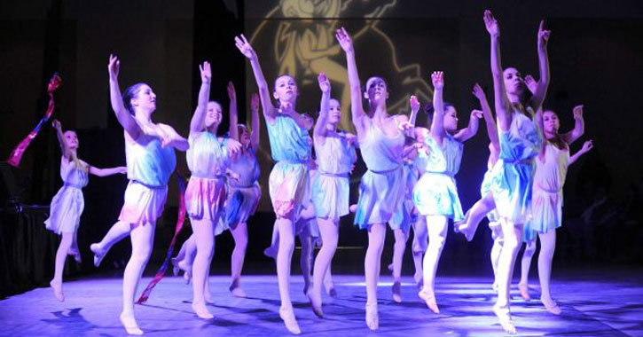 a group of ballet dancers