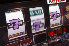 Video Gaming Slot Machine