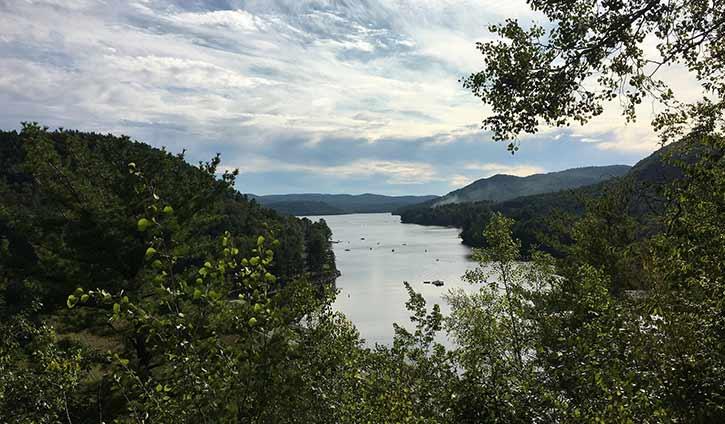 Overlooking Great Sacandaga Lake