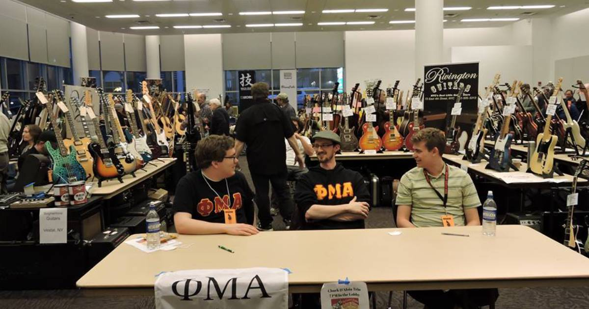 guitar show vendors