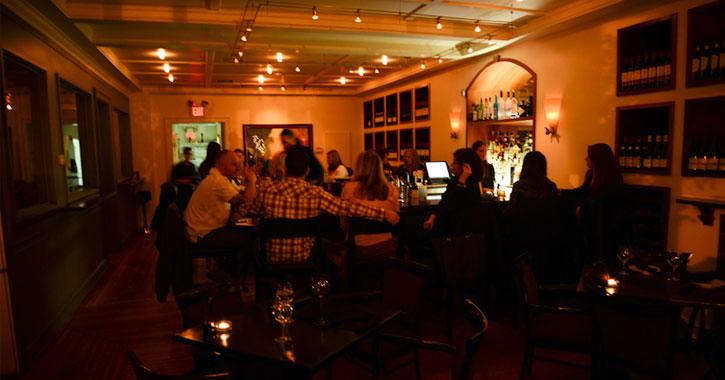 people inside a wine bar