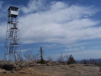 firetower on hadley mountain