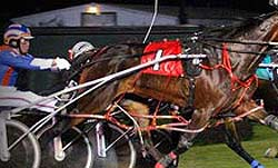 Harness Racing at Saratoga Raceway (RACINO)