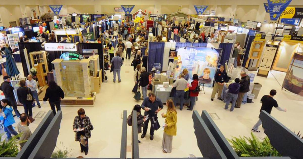 indoor home lifestyle show booths
