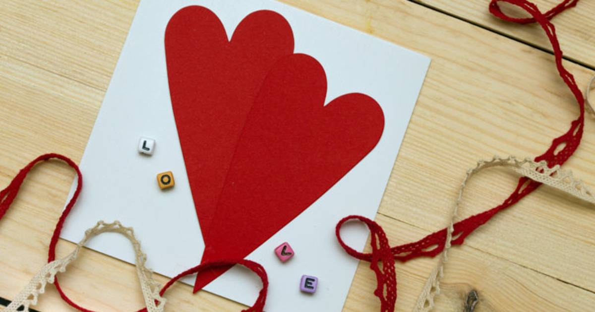 valentine's card and crafts