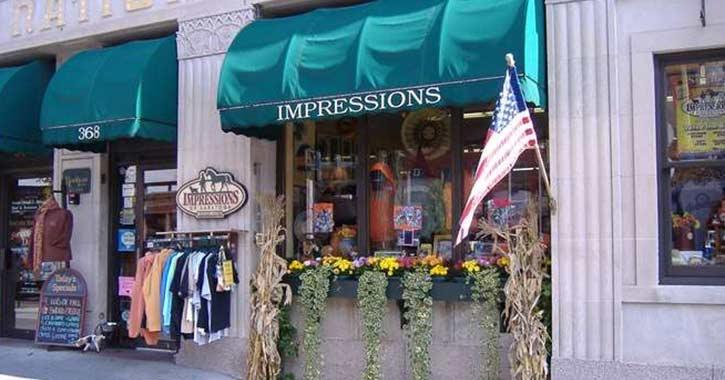 impressions storefront