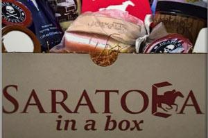 Saratoga in a Box with Saratoga items