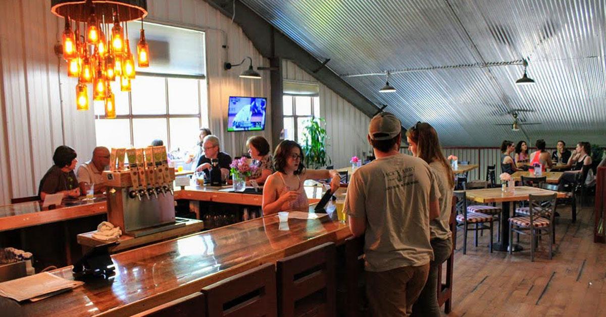 inside Artisanal Brew Works