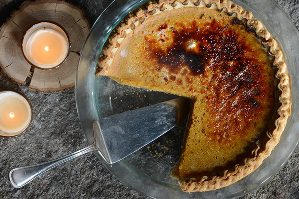 pumpkin pie from longfellows