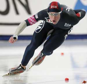 Olympic Speedskater Marsicano