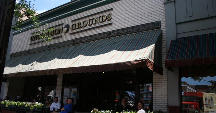 exterior of uncommon grounds