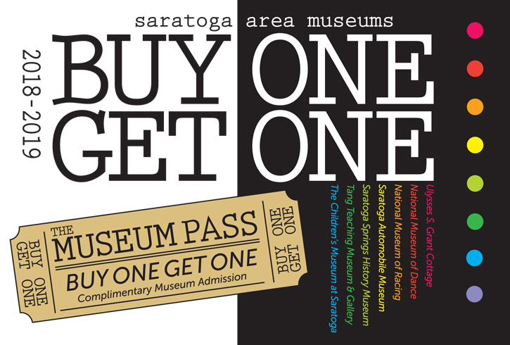 buy 1 get 1 museum pass for the museums listed in the text