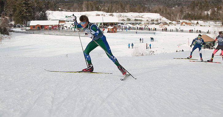 a nordic racer