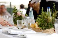 Outdoor Dining Event