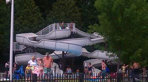 Peerless Pool - Water Slides