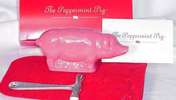 a peppermint pig
