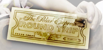 The Polar Express Golden Ticket