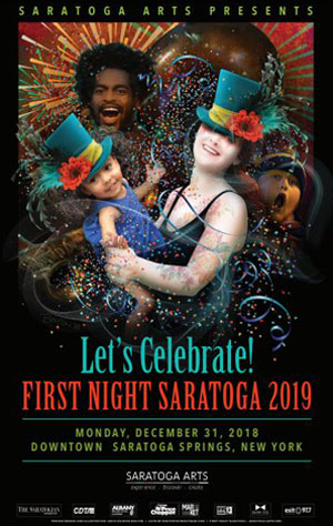 first night saratoga 2019 poster