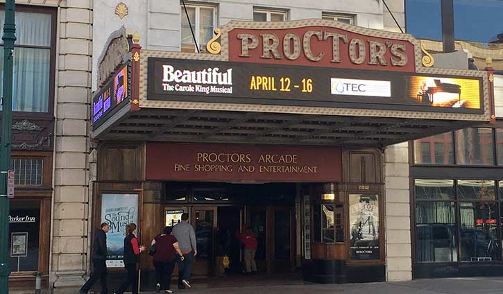 proctors theater in schenectady