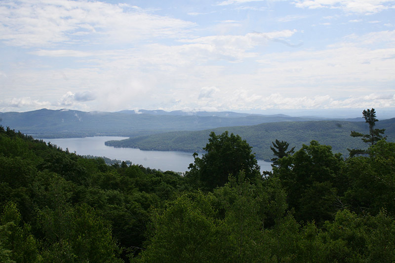 view from summit of Prospect mountain