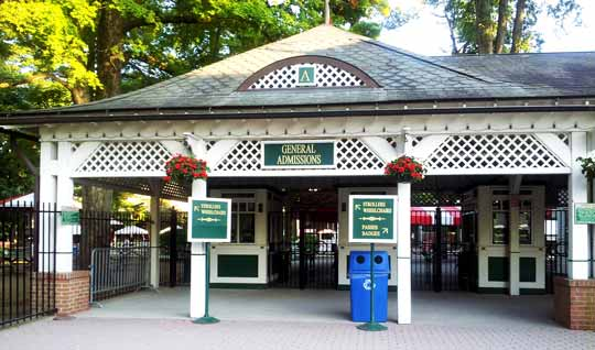Saratoga Race Track Front Gate Admission