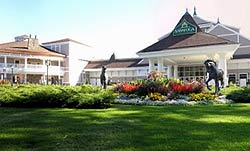 Front of Saratoga Gaming and Raceway