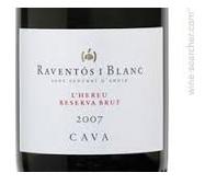 Raventos Blanc bottle
