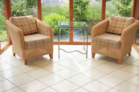 sitting room windows chairs