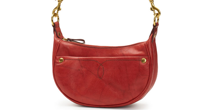 a red purse