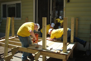 Rebuilding Together Saratoga County Volunteers