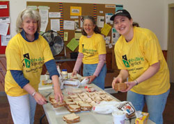 Rebuilding Together Saratoga County Volunteers Make Lunches