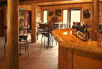 interior of saratoga winery