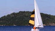 sailboat on saratoga lake