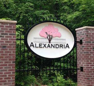 sign for alexandria