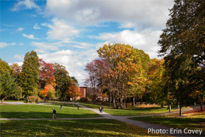 skidmore college in autumn